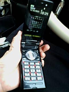 新しくなりました携帯電話♪